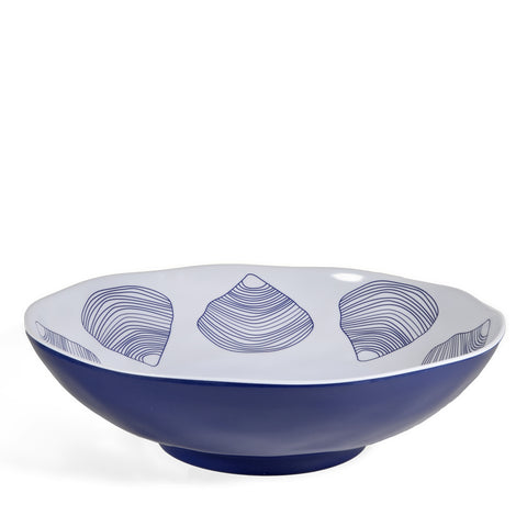 Merritt Clamshell by Kate Nelligan 11.5-inch Melamine Bowl