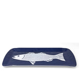 Merritt Striper by Kate Nelligan Melamine Loaf Tray