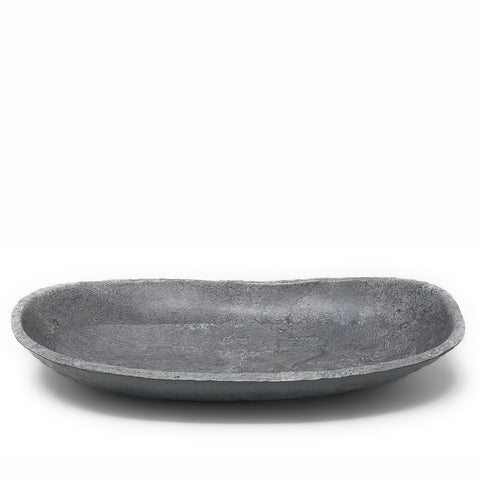 Merritt Galaxy Granite 17-inch Oval Melamine Serving Bowl