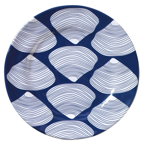 Merritt Clamshell by Kate Nelligan 8.5-inch Melamine Salad Plate, Set of 6