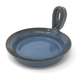 MudWorks Pottery Microwave Omelet Maker, Barrington Blue