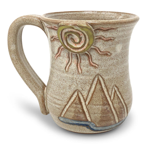 MudWorks Pottery Special Edition Desert Mountains Mug