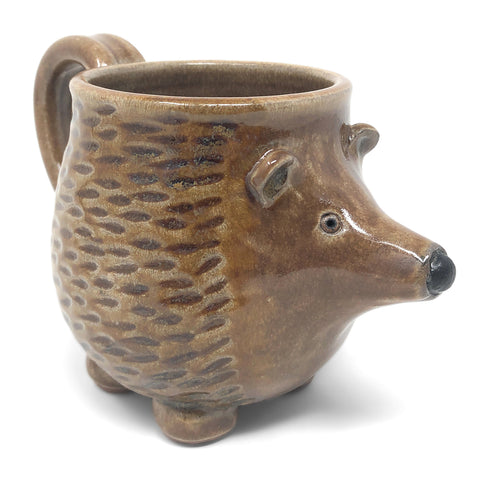 MudWorks Pottery Hedgehog Mug