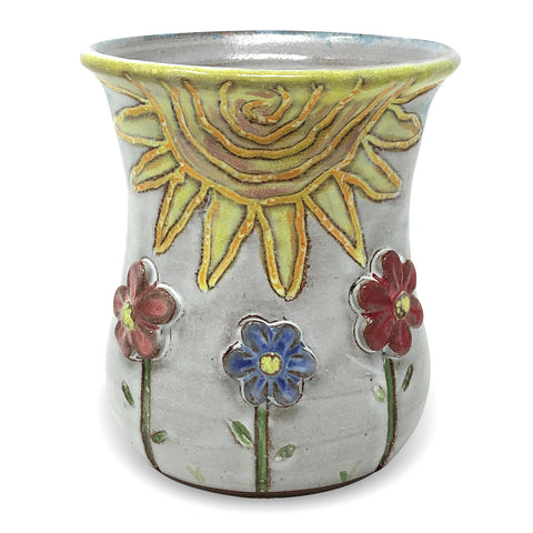 MudWorks Pottery Special Edition Summer Flowers Mug
