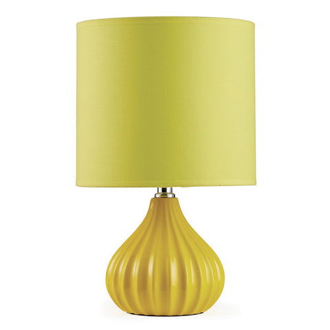 Napa Home & Garden Addie 13-inch Mini Ceramic Lamp, Yellow