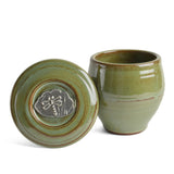 Oregon Stoneware Studio Dragonfly French Butter Crock - The Barrington Garage