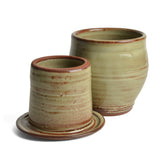 Oregon Stoneware Studio Vineyard French Butter Crock - The Barrington Garage