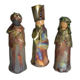PotTerre Raku Pottery Handmade 11-piece Nativity Set - The Barrington Garage