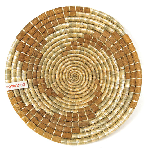 WomenCraft Banana Bahari Round Table Basket
