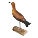 The Painted Bird by Richard Morgan Carved Hudsonian Curlew Figurine