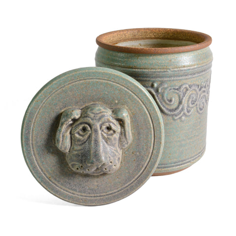 The Potters, LTD Dog Treat Jar