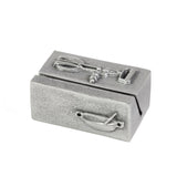 Vilmain Pewter Recipe Card Holder - The Barrington Garage