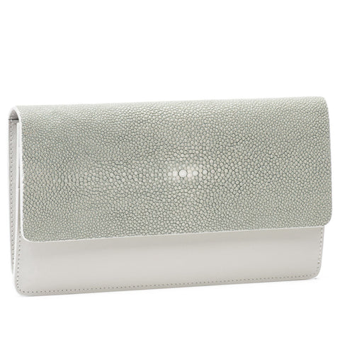 VIVO Women's Bea II Napa Leather and Shagreen Wallet