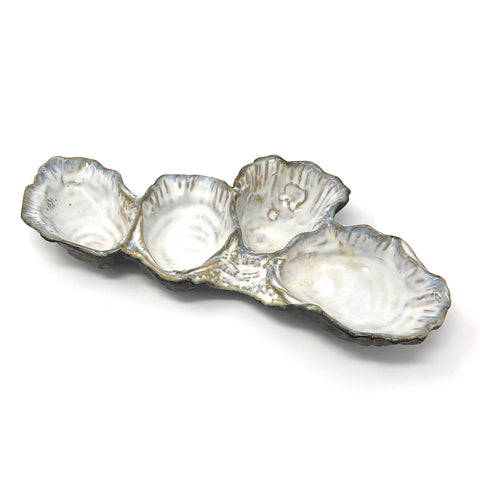 Yarnnakarn Oceanology Oyster Reef Ceramic Bowl
