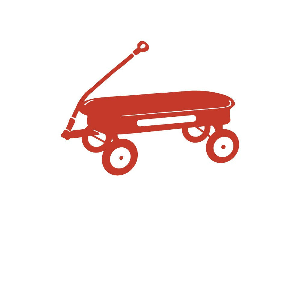 RED WAGON THANK YOU NOTE