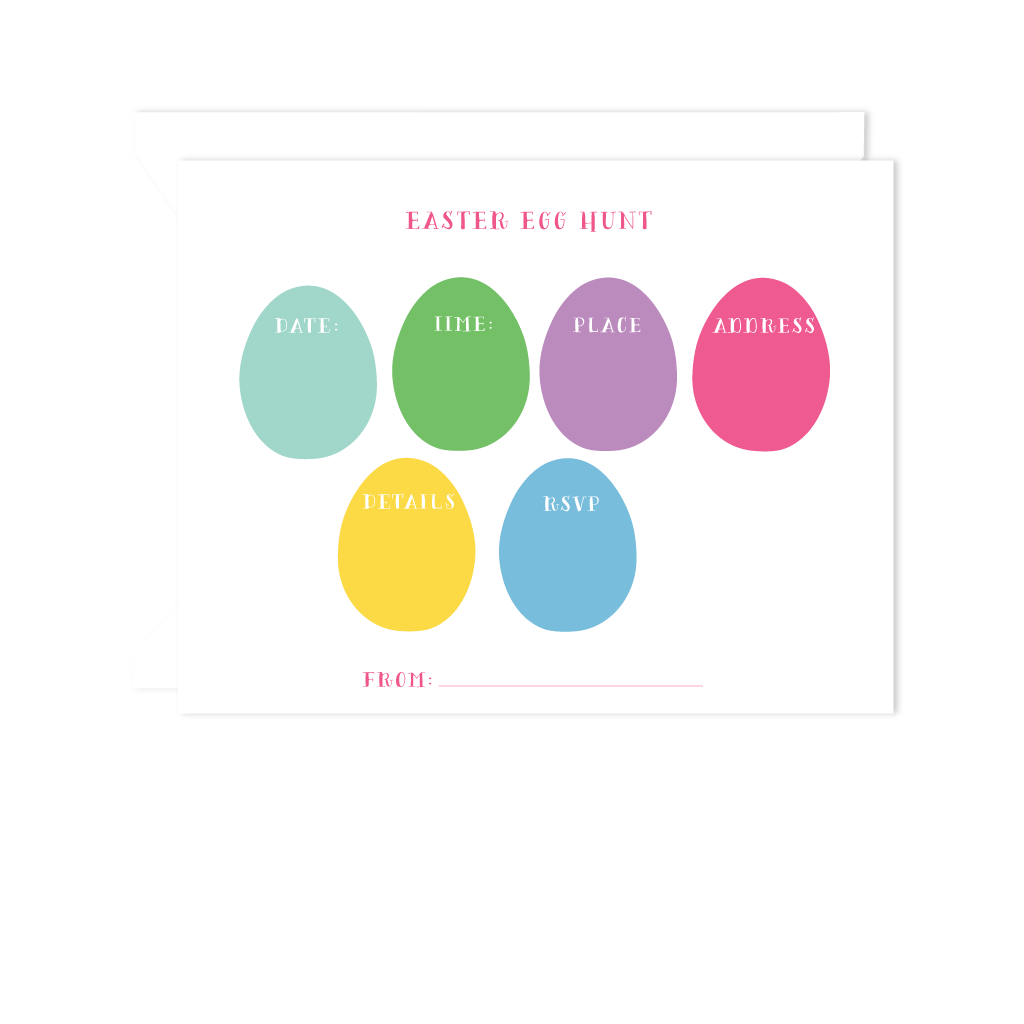 EASTER EGG HUNT INVITE
