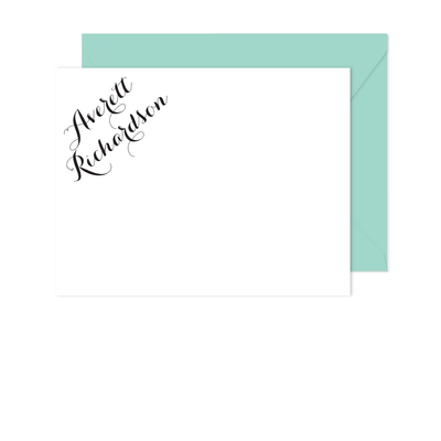 Fulfillment Stationery