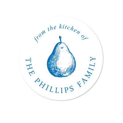 Pear Kitchen Labels