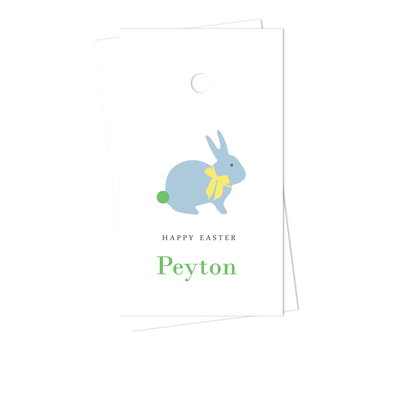 Blue Bunny Gift Tags