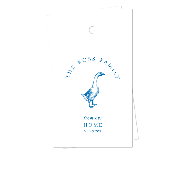 Goose Gift Tags