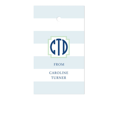 Stripe Gift Tags