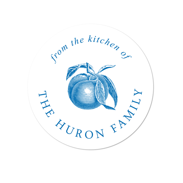 Apple Kitchen Labels