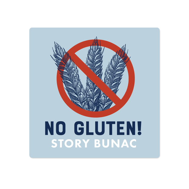 No Gluten Name Labels