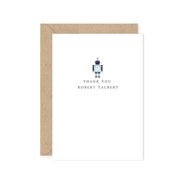 ROBOT THANK YOU NOTE
