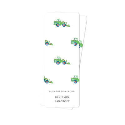 Bulldozer Bookmark