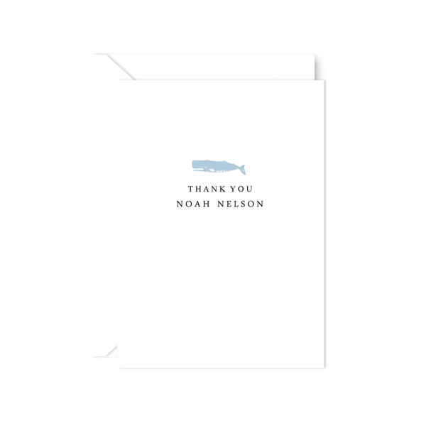 WHALE THANK YOU NOTE