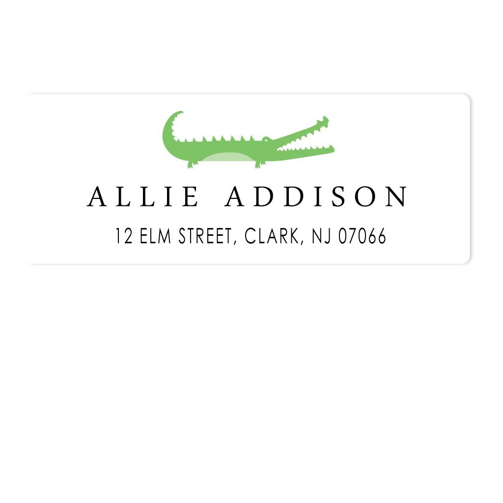 ALLIGATOR ADDRESS LABELS