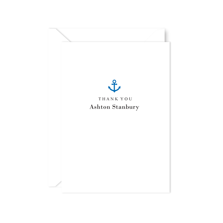 Anchor Thank You Notes