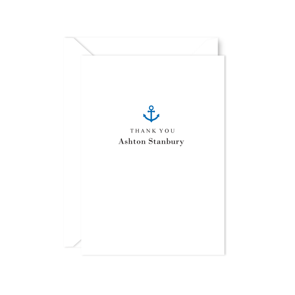 ANCHOR THANK YOU NOTE