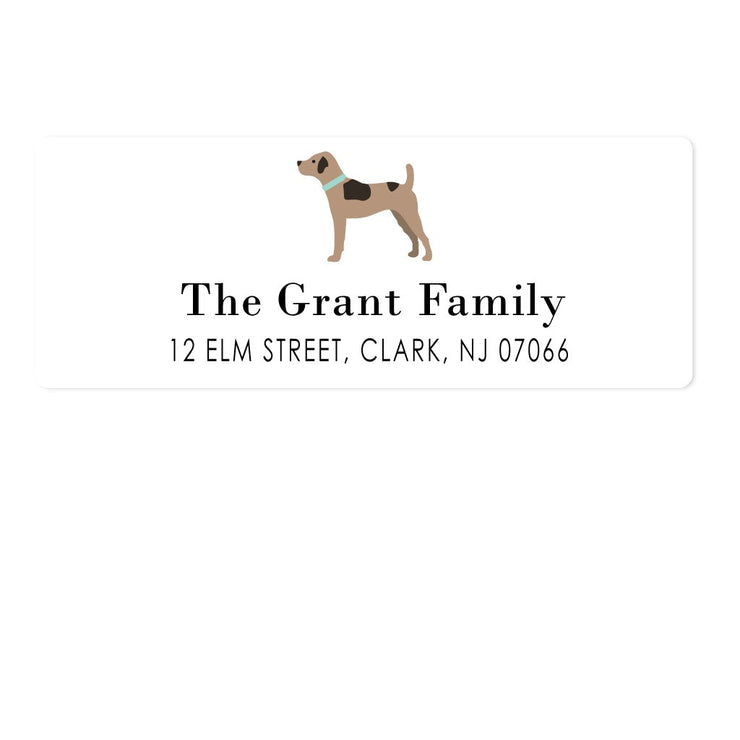 Dog Address Labels