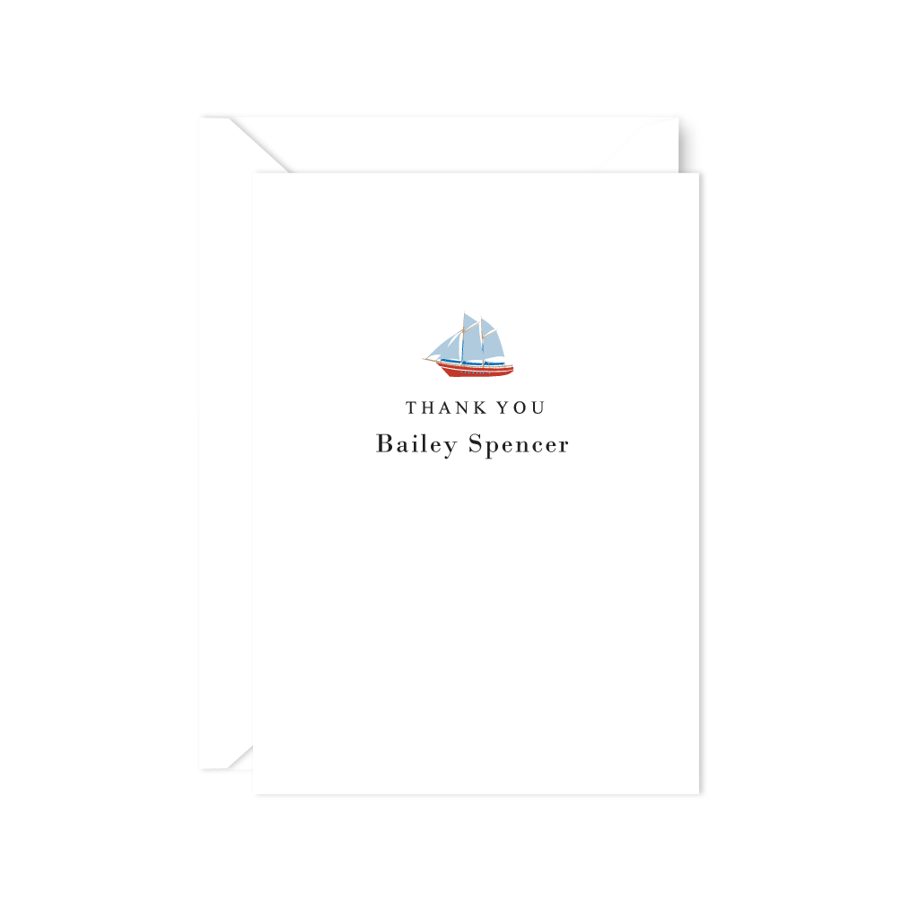 SHIP THANK YOU NOTE