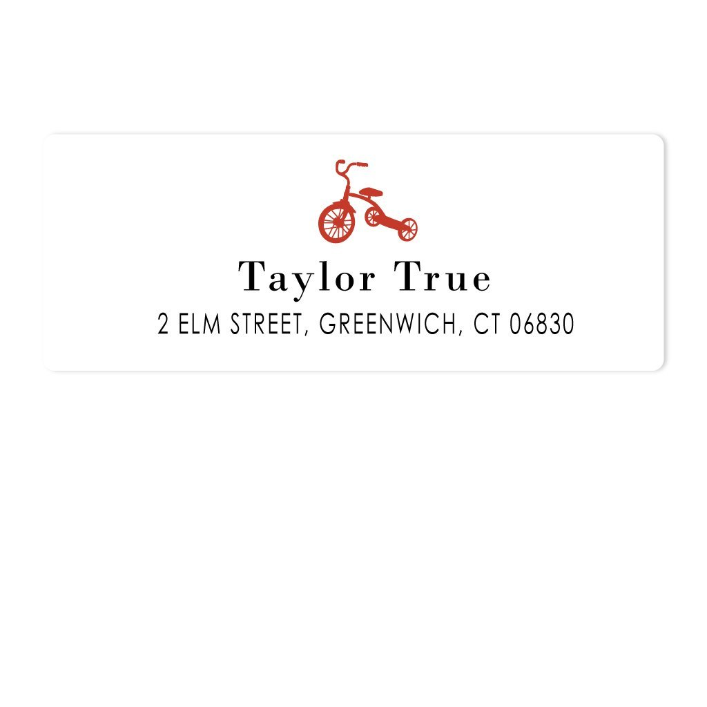 TRICYCLE ADDRESS LABELS