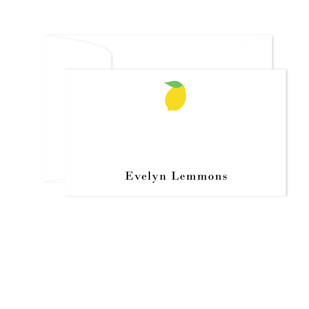 LEMON GIFT ENCLOSURES