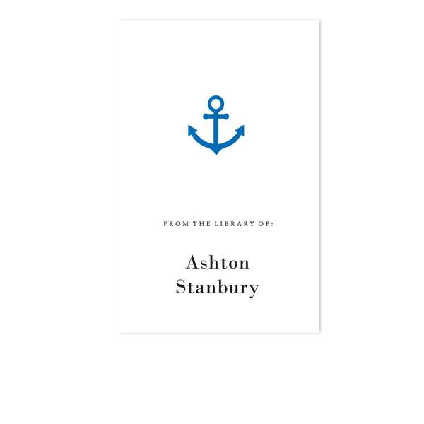 ANCHOR BOOKPLATE