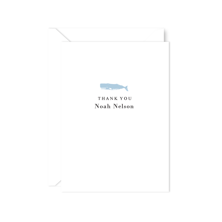 Whale Thank You Notes