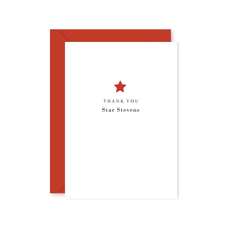 Stars Thank You Notes