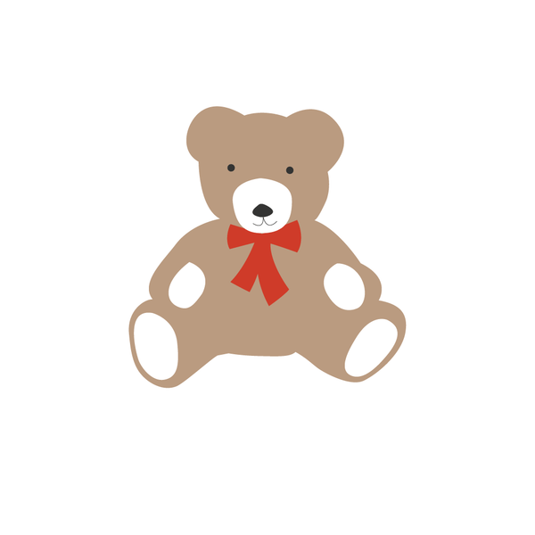 TEDDY BEAR THANK YOU NOTE