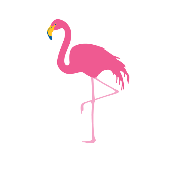 FLAMINGO THANK YOU NOTE