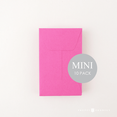 Mini Fuchsia Envelopes