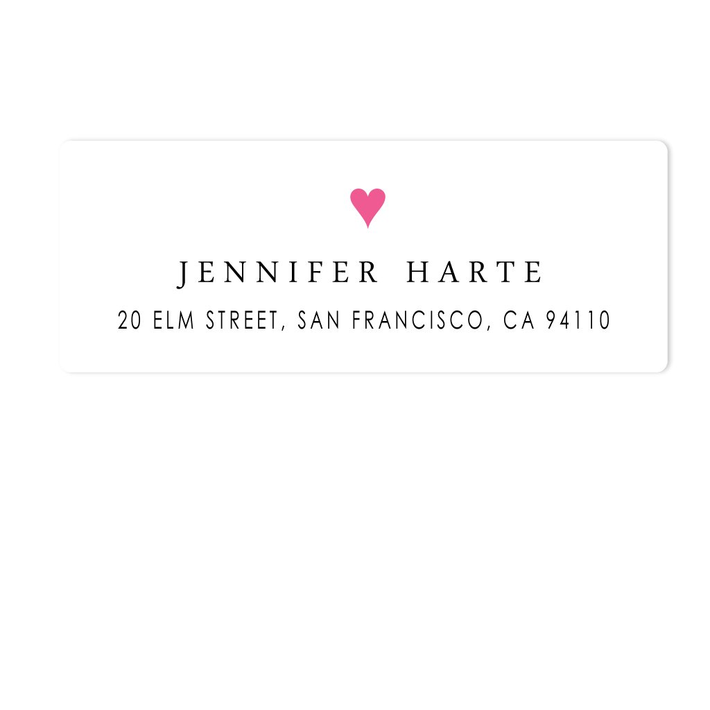 GOOD HEARTED ADDRESS LABELS