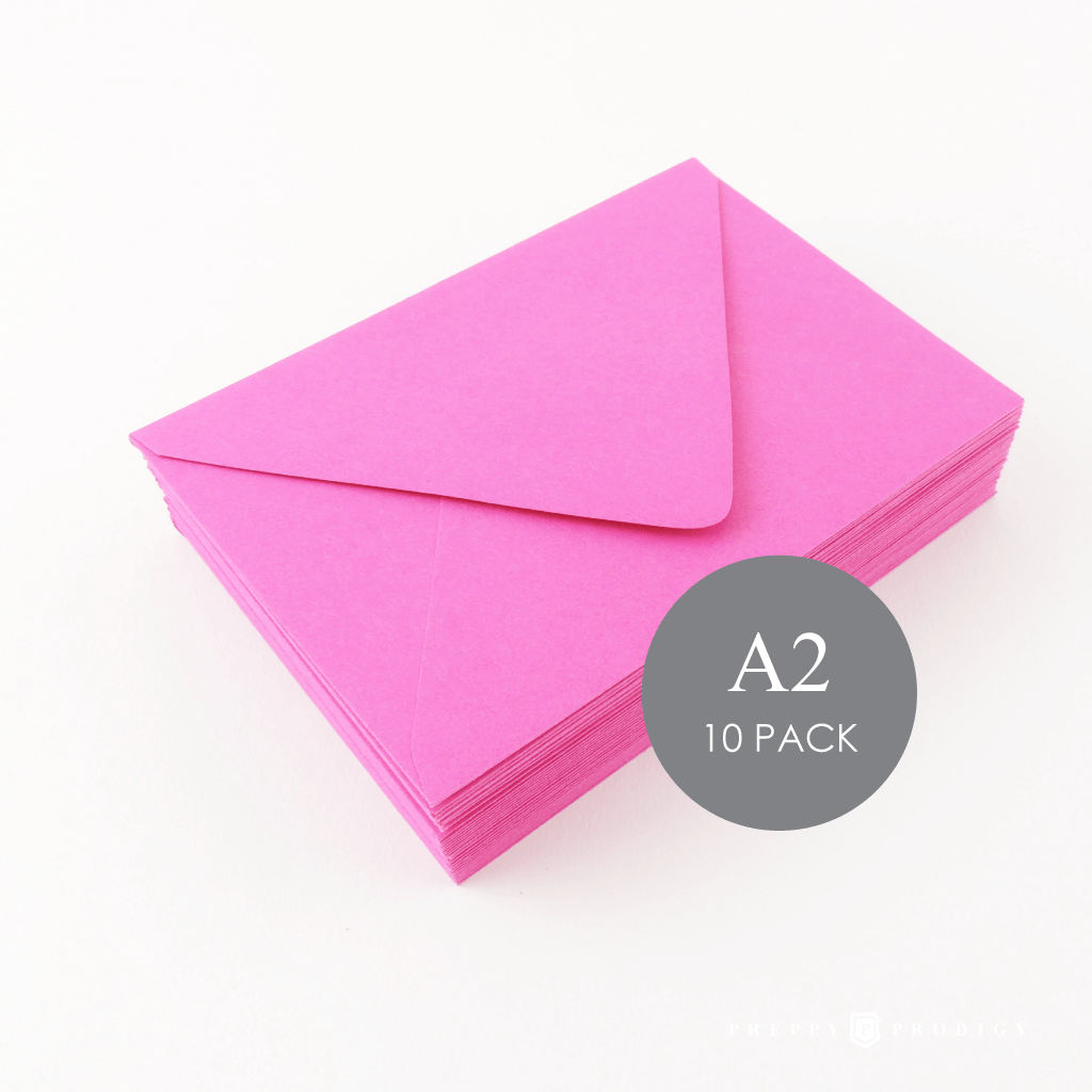 A2 FUCHSIA ENVELOPES