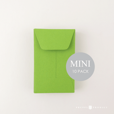 Mini Green Envelopes