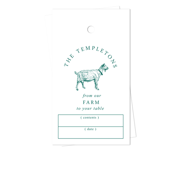 Goat Gift Tags