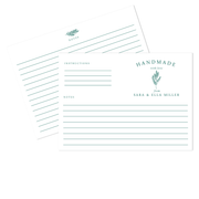 Branch Recipe Cards