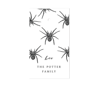 Halloween Spider Gift Tags