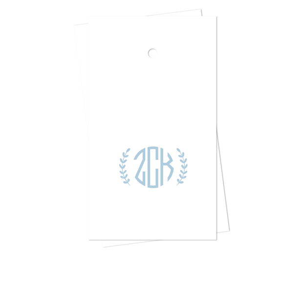 Leaf Monogram Gift Tags